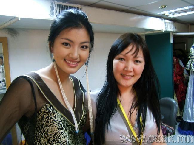 贴几个蒙古国的美女 大家看看可以打几分?